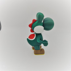 Picture of print of Yoshi from Mario games - Multi-color Cet objet imprimé a été téléchargé par Patrick Born
