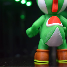 Picture of print of Yoshi from Mario games - Multi-color Cet objet imprimé a été téléchargé par Thirteen Lynch