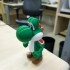 Yoshi from Mario games - Multi-color image