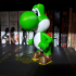 Yoshi from Mario games - Multi-color print image