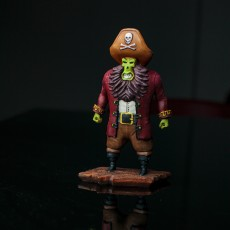 Picture of print of Captain LeChuck - Monkey Island