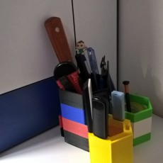 Picture of print of Modular USB & Pen Holder 3000