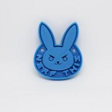Overwatch D-Va Rabbit keychain