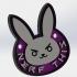 Overwatch D-Va Rabbit keychain image
