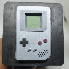 Picture of print of Game Boy Cartridge Storage