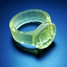 Picture of print of Avarice Lantern Ring