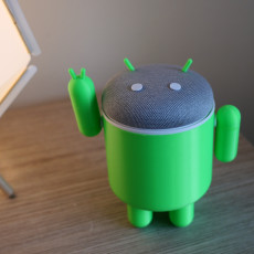 Picture of print of Android Body for Google Home Mini