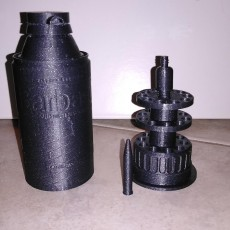 Picture of print of bullet holder