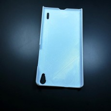 Picture of print of Huawei Ascend P7 case