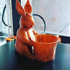 Picture of print of Easter Bunny Toy/Pot/Planter This print has been uploaded by Michael Linder
