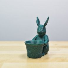 Picture of print of Easter Bunny Toy/Pot/Planter