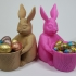Easter Bunny Toy/Pot/Planter image