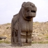 Colossal basalt lion of Ain-Dara image