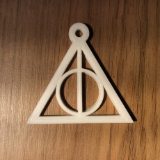 Deadly Hallows keychain harry potter