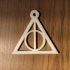 Deadly Hallows keychain harry potter primary image