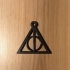 Deadly Hallows keychain harry potter image