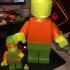 Giant Movable LEGO Man print image
