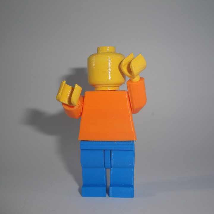 Giant Movable LEGO Man