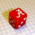 Alabama Crimson Tide Dice image