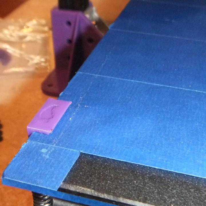 Minimalistic Tevo Glass Clip