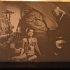 Princess Leia Slave scene Lithophane image