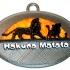 Hakuna Matata - Lion King Keychain image