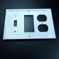Picture of print of My Customized WALLY - Wall Plate Customizer
