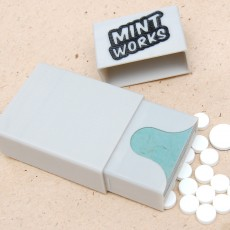 Mint Works organizer with mints compartment