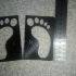 Surfer Feet paint stencils image