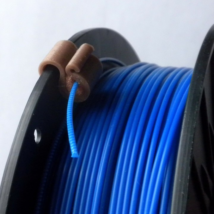 1.75...3.0 mm Filament Clip with filter