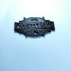 Picture of print of 2015 MLB All Star Game Logo