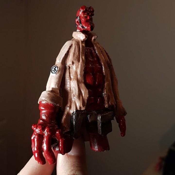 Hellboy Sculpture