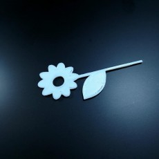 Picture of print of Flower Cake Topper