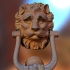 Lion Head Door Knocker (Wall Hanger) image