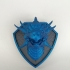 Dragon Head Wall Mount (Trophy) print image