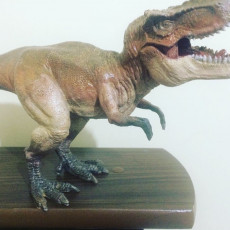 Picture of print of Tyrannosaurus Rex Figurine 3D Scan This print has been uploaded by Débora Regina