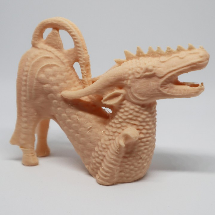 Dragon Sculpture 3D Scan