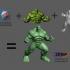 Hulk Sculpture (MeshMixer Combo) image