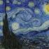 Vincent van Gogh - Starry Night Lithophane image
