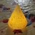 Christmas Tree Lamp (Lithophane) image