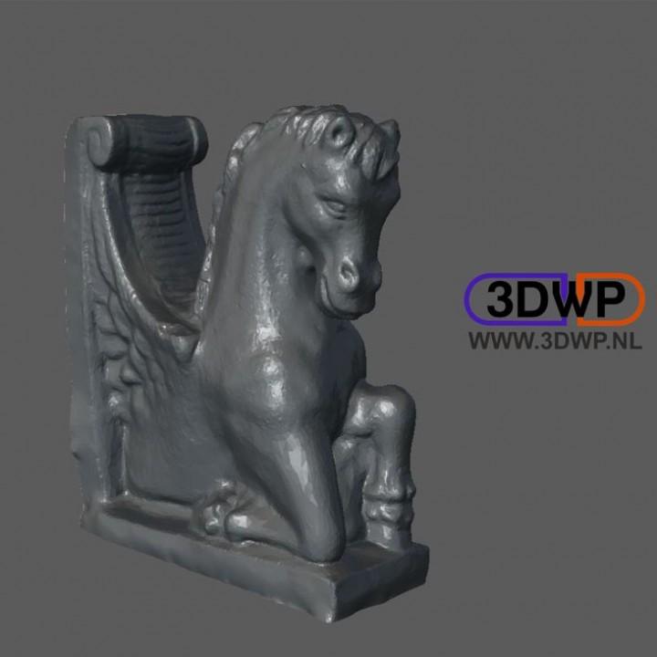 Horse Statue 3D Scan (Pegasus)