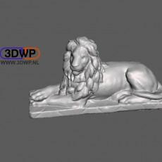 Lion Statue 3D Scan