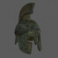 Pretorian Helmet 3D Scan