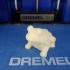 Frog Sculpture 3D Scan print image