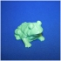 Frog Sculpture 3D Scan image