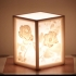 More-Than-a-Lithophane Camellia & Rose Lamp image