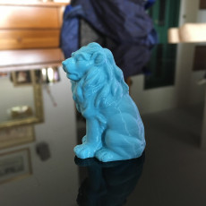 Picture of print of Lion Sculpture 3D Scan
