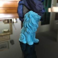 Picture of print of Lion Sculpture 3D Scan Esta impresión fue cargada por Michele Paini
