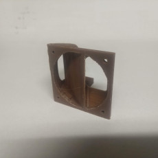 Picture of print of Cetus3D Fan Duct (Thicker Pre Production Version)