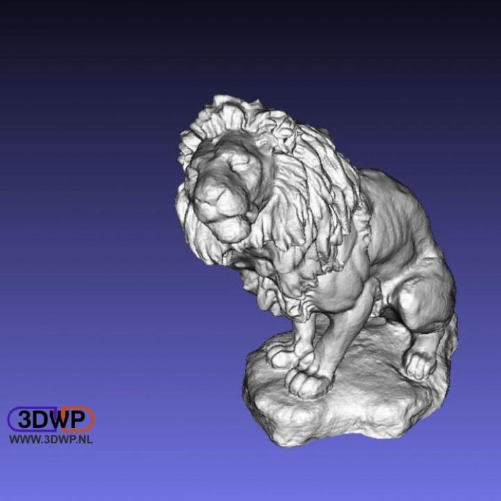 Lion Sculpture (3D Scan)